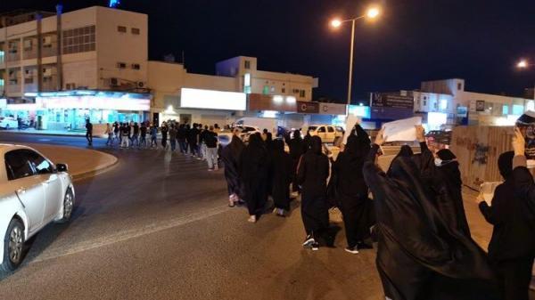 خبرنگاران مردم بحرین با برپایی تظاهرات خواهان آزادی زندانیان شدند