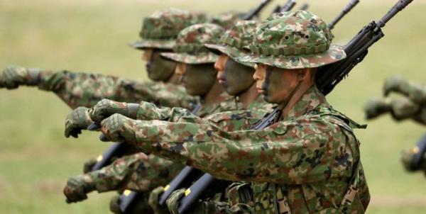 رزمایش ضد چینی ژاپن با آمریکا و فرانسه در جنوب این کشور