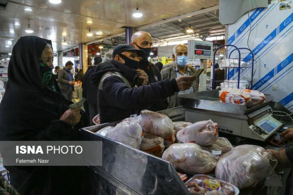 شروع عرضه مرغ در خوزستان با نرخ مصوب جدید ، بازار هنوز اشباع نیست