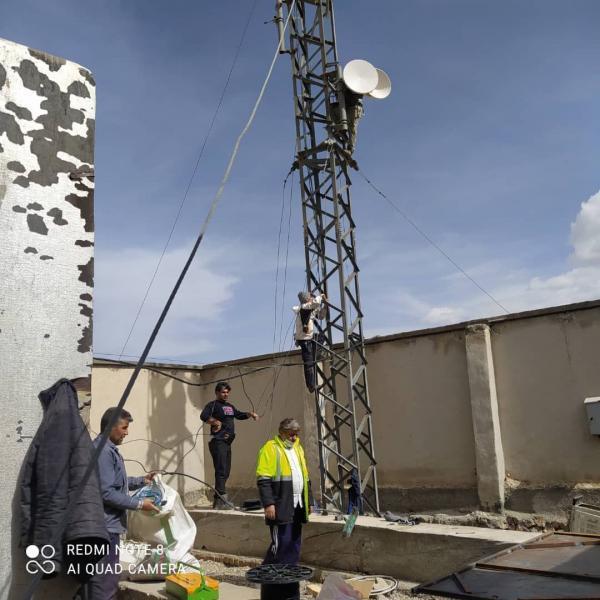 بازسازی مجدد سایت تلفن همراه گله بادوش شهرستان الیگودرز