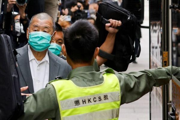 آمریکا صدور حکم مجازات برای غول رسانه ای و فعالان هنگ کنگ را محکوم کرد
