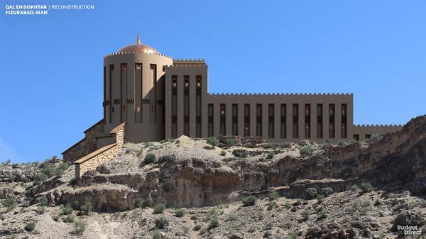 این 7 قصر و قلعه تخریب شده (از جمله قلعه دختر ایران) در زمان اوج خود چه میزان زیبایی و شکوه داشتند؟!