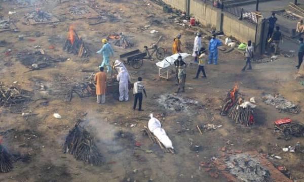 رکورد بالاترین فوتی کرونا در هند طی 24 ساعت