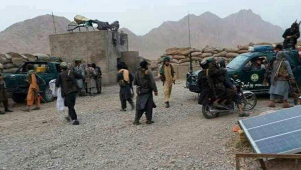 طالبان شهرستان دولت آباد استان فاریاب را تصرف کرد