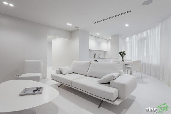 دکوراسیون سفید در آپارتمان امروزی، آنالیز سه خانۀ بسیار زیبا