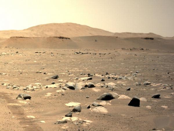 هلی کوپتر مریخی برای ششمین بار پرواز می کند