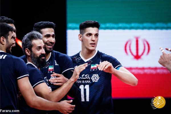 ترکیب والیبال ایران مقابل استرالیا