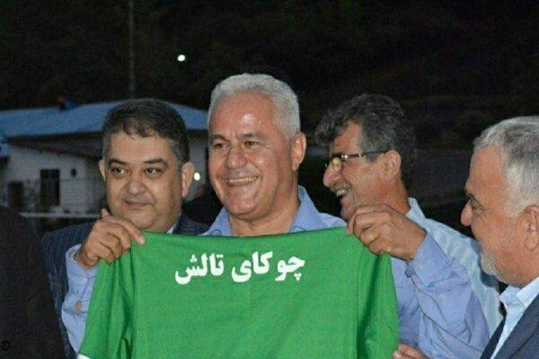 پیروزی چوکا با فرشاد پیوس و امیدواری به بقا در لیگ دسته اول