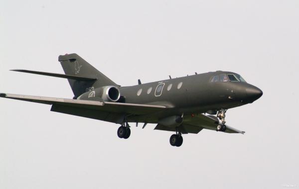 کوتاه درباره هواپیمای فالکن 20 نیروی هوایی نروژ