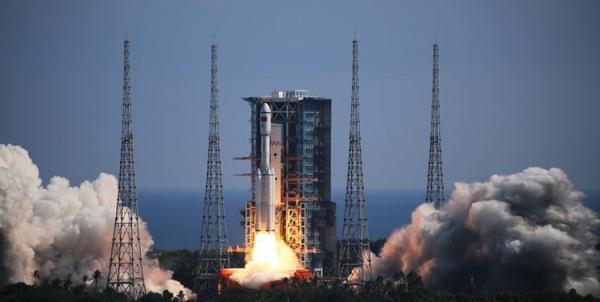 پرتاب پیروز پیشرفته ترین فضاپیمای باری به ایستگاه فضایی چین